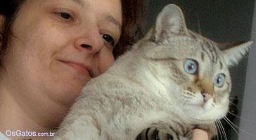 Os gatos preferem as mulheres